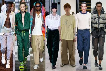 4. Nineties-style cargo trousers