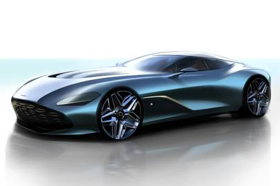 Here's your first look at the ultra-exclusive Aston Martin DBS GT Zagato