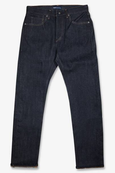 Slim-fit selvedge jeans