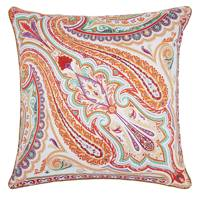 Etro Leek Paisley Cushion