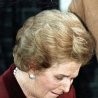 The Iron Lady (finally) weeps