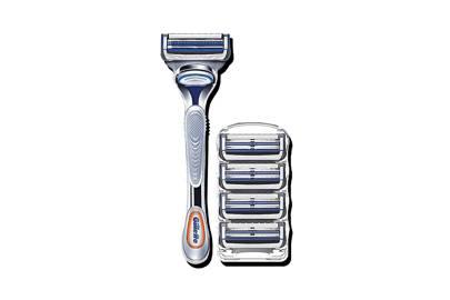 Fusion5 ProGlide Razor Blades and SkinGuard Sensitive Razor by Gillette
