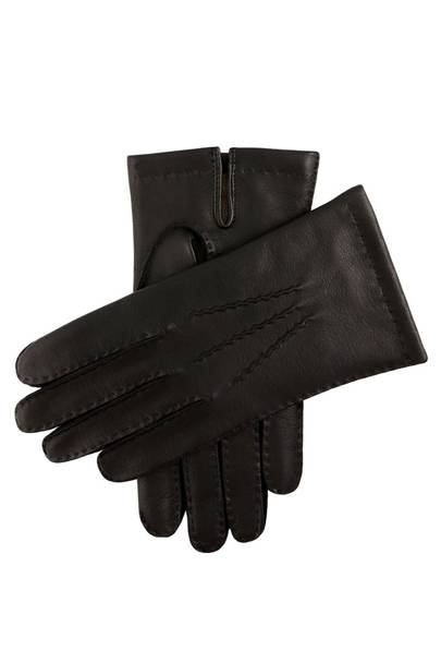 Cashmere lined leather gloves by Dents