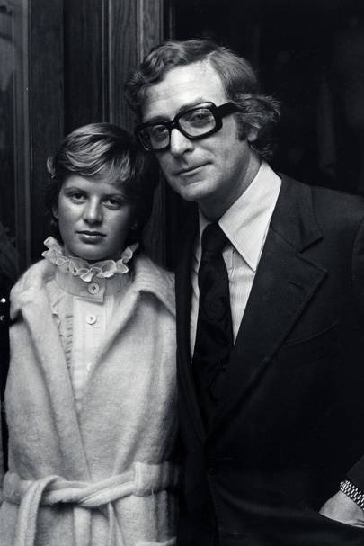 Michael Caine and Nikki Caine, 1973