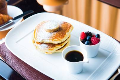 Award winning chef wolfgang puck reveals his recipe for how to make pancakes like wolfgang puck ccuart Choice Image