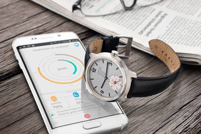 The first ever Swiss-made smart watch, the Helvetica 1 Smartwatch pairs Mondaine's beautiful Swiss railway-inspired designs with fitness and sleep tracking ...