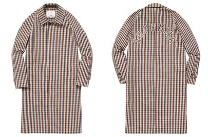 Supreme x Aquascutum collaboration
