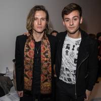 Dougie Poynter and Tom Daley