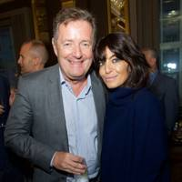 Piers Morgan and Claudia Winkleman