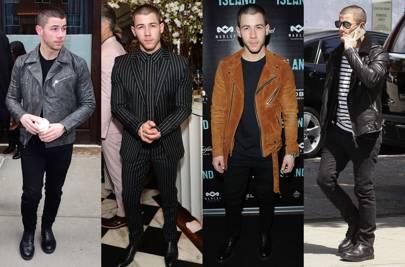 March: Nick Jonas