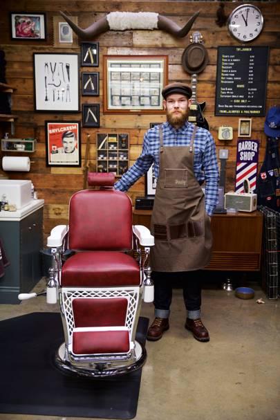 Paul Harmer, barber