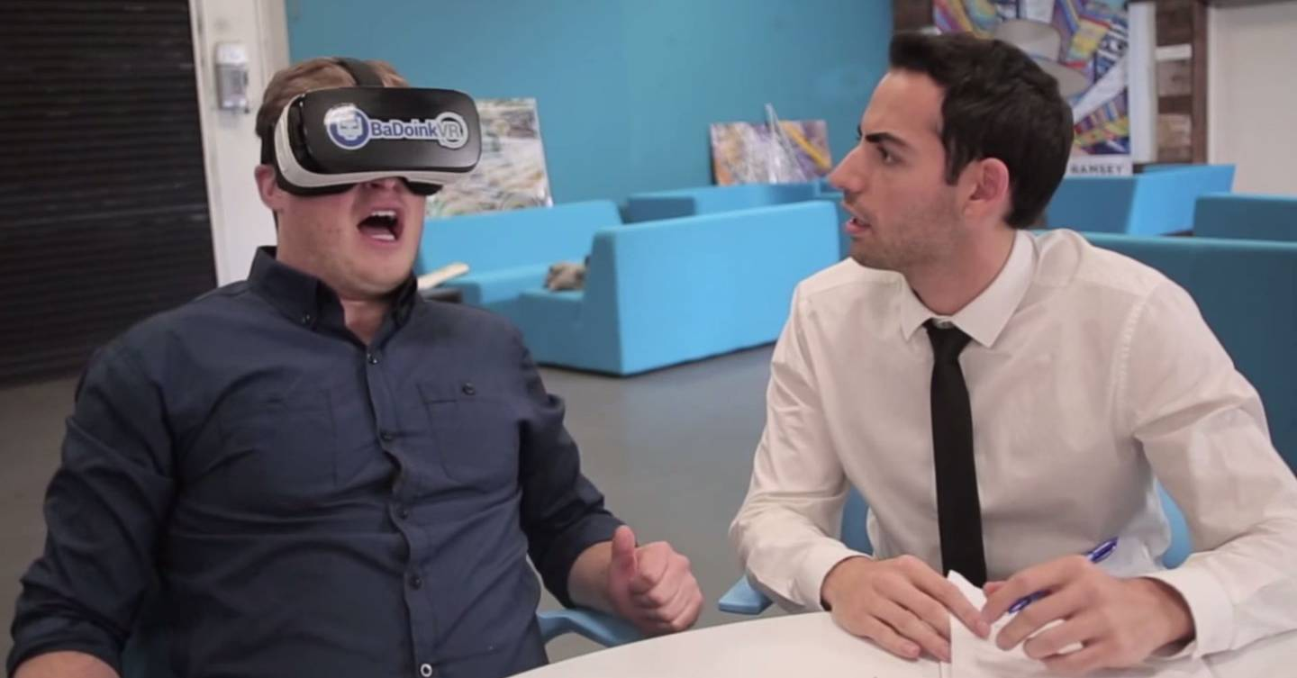 Virtual Reality Porn Is Here And Its Free  British Gq-8567
