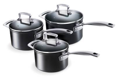 Le Creuset Non-Stick Saucepan Set