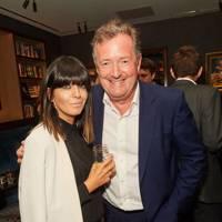 Claudia Winkleman and Piers Morgan
