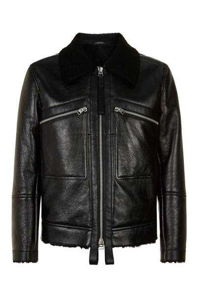 Leather jacket by Tom Ford