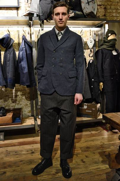 f4bde39777c8 Nigel Cabourn Autumn Winter 2016 Menswear show report