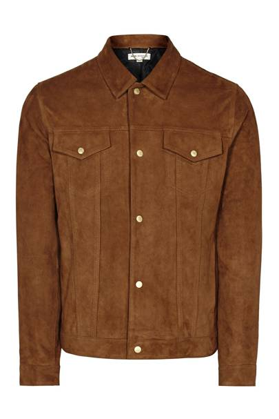 Reiss 1971 'Downing' suede jacket