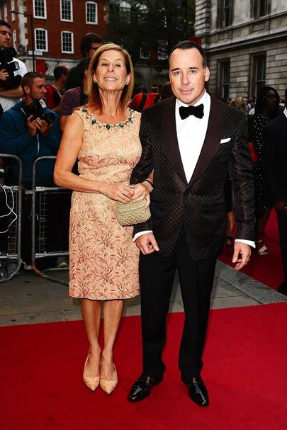 Jo Levin and David Furnish