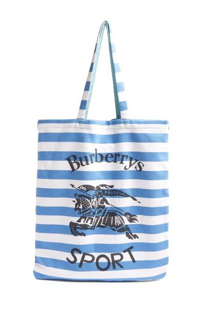 Striped tote bag by Burberry
