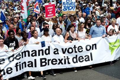 People's Vote March: who you'll be marching with
