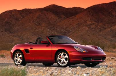 the original boxster is now becoming a modern classic in its own right with that mid engined layout its a peach to drive and good value with prices
