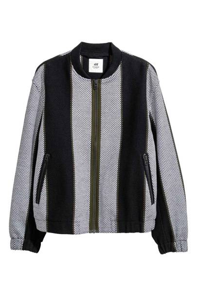 Jacquard-weave jacket