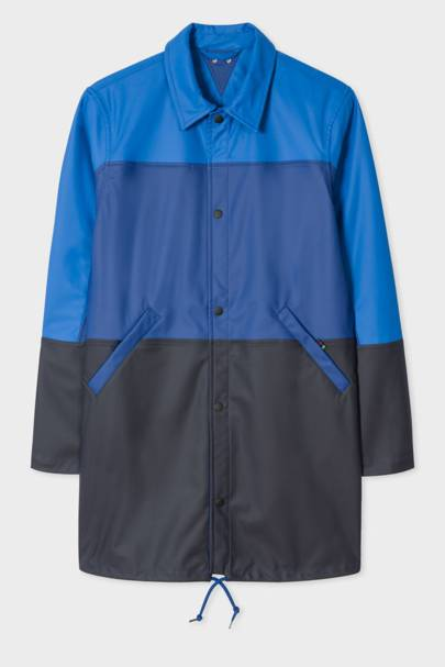Water-resistant mac by Paul Smith