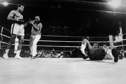 George Foreman vs Muhammad Ali, 1974