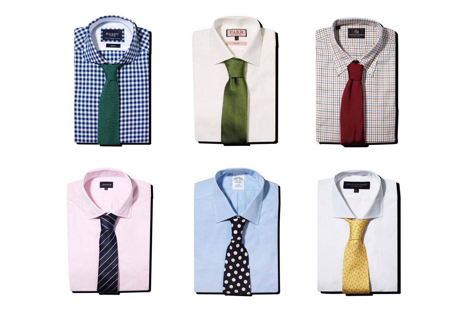How To Colour Match Men S Shirts And Ties Gq Style Tips British Gq