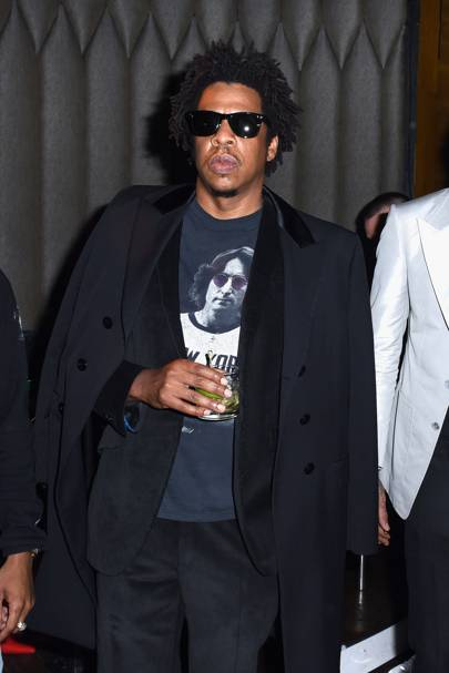 Jay-Z's afro continues to be iconic