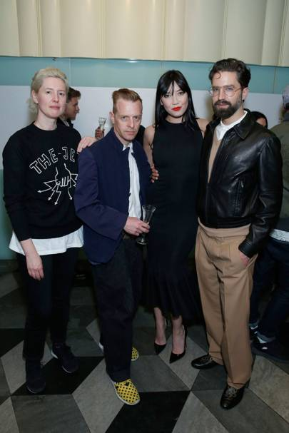 Cozette McCreery and Sid Bryan (Sibling), Daisy Lowe and Jack Guinness
