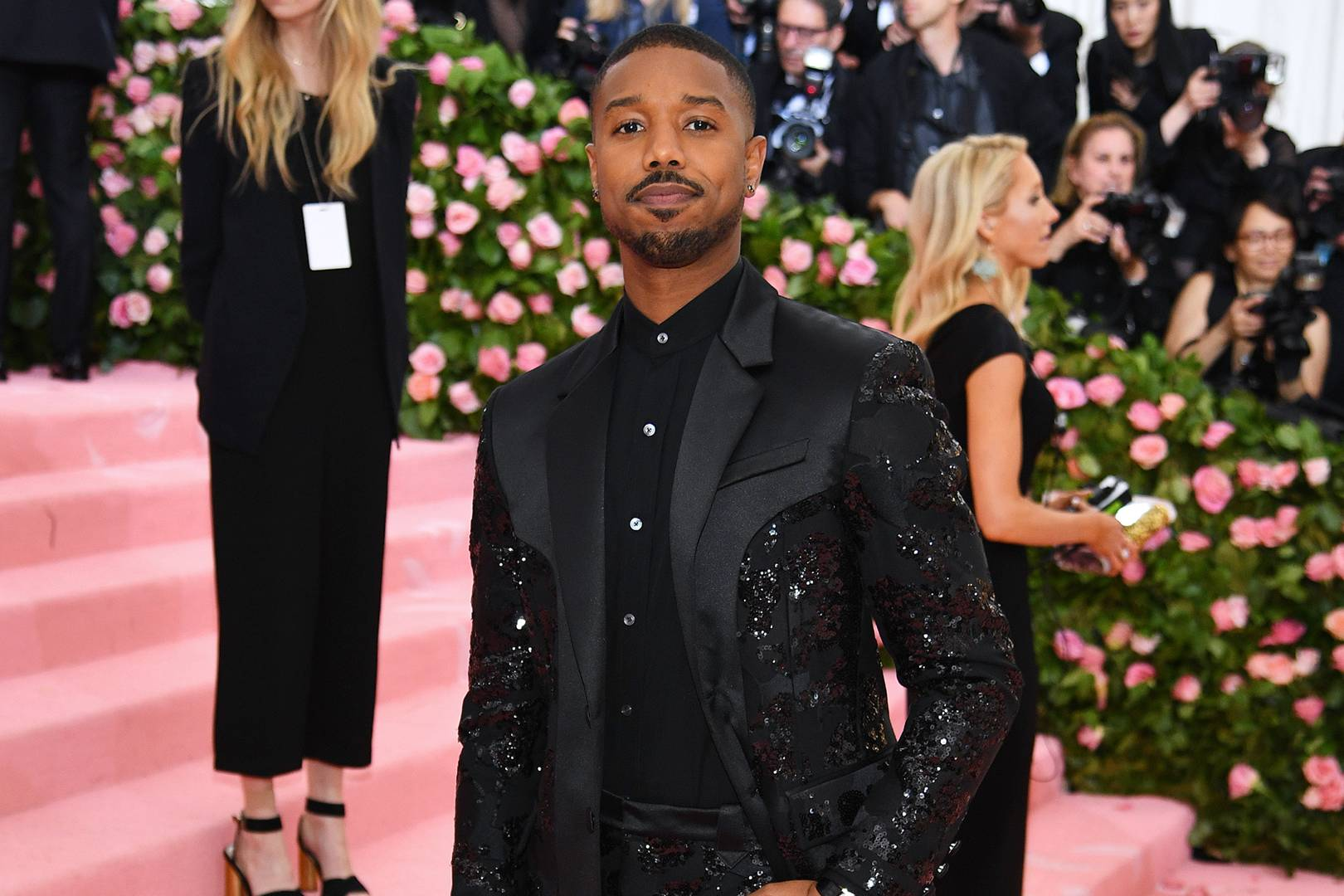 Image result for michael b jordan met gala 2019