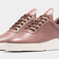 Filling Pieces 'Low Top Split Lean Ox Blood' trainers