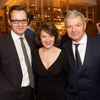 Andy Coulson, Sarah Bedford and Alan Edwards