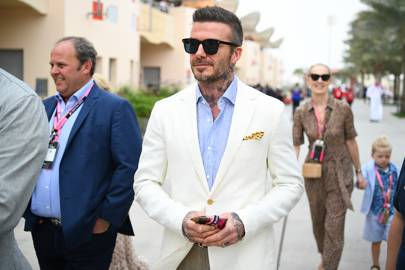 Every time David Beckham scored major points in the sunglasses game
