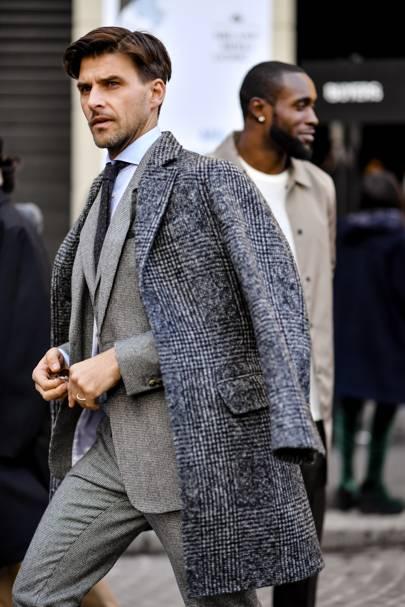 Milan Men 39 S Fashion Week Aw18 Best Street Style British Gq