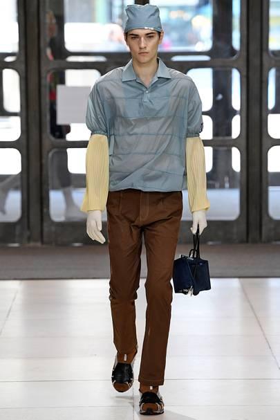 7bd7f08f48e8f6 Xander Zhou Spring/Summer 2019 Menswear show report | British GQ