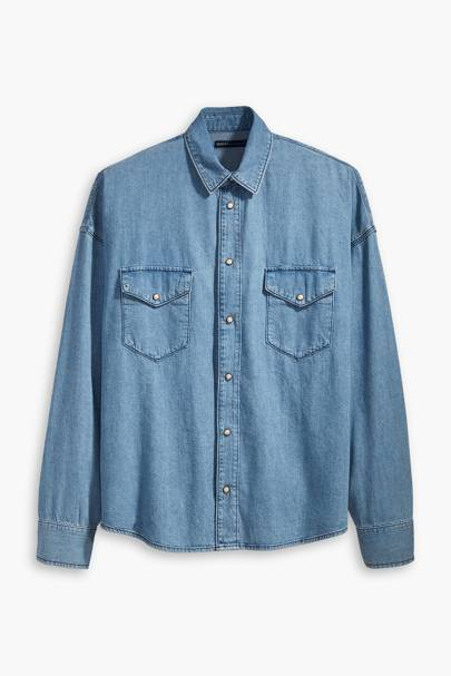 Drop Shoulder Western Shirt by Levi's