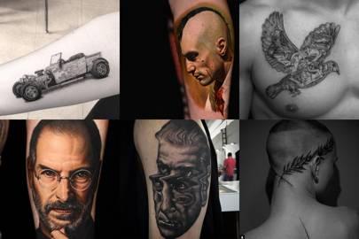 Tattoos for men: some Instagram inspiration