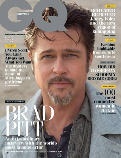 Brad Pitt - November 2014