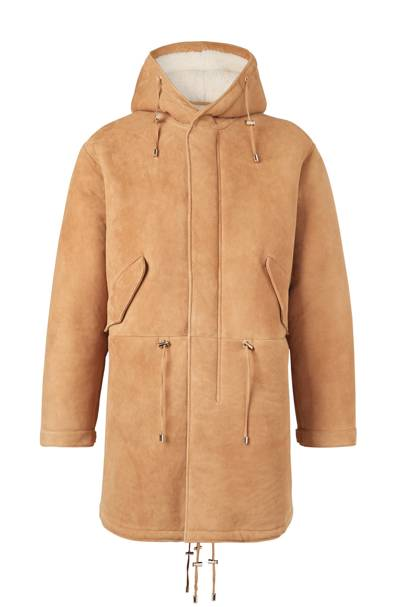 Shearling parka by Kent & Curwen