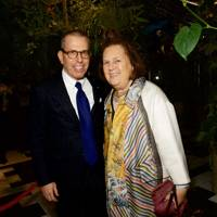 Jonathan Newhouse and Suzy Menkes