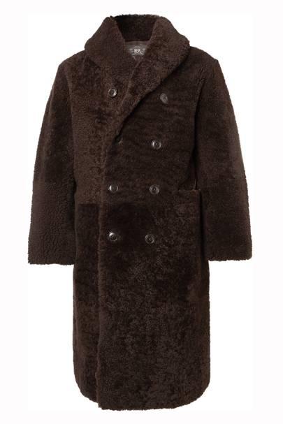 Hendricks shearling coat by RRL