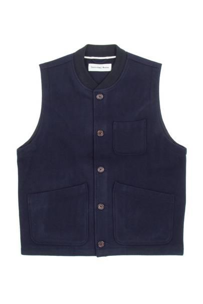Universal Works chore waistcoat