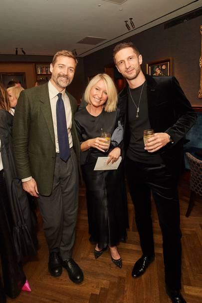 Patrick Grant, Izzy May and Jonathan Heaf