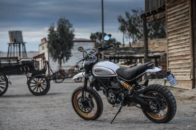 Ducati Scrambler Desert Sled Review British Gq