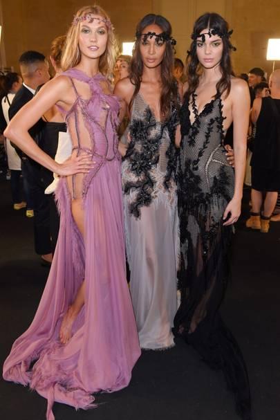Karlie Kloss, Joan Smalls and Kendall Jenner