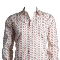 Liberty Love Birds Printed Shirt by Simon Carter