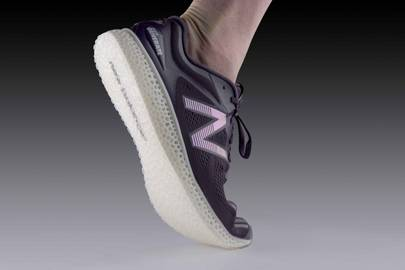 New Balance's first 3-D printed trainers hit the internet today