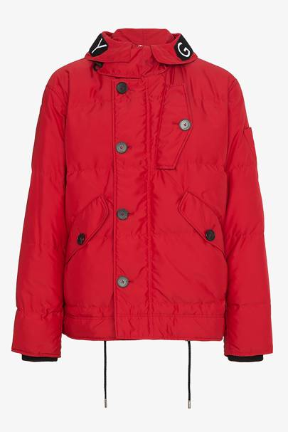 Jacket by Givenchy, £1,765.